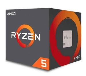PROCESADOR AMD AM4 RYZEN 5 2600 6X3.4GHZ:19MB BOX