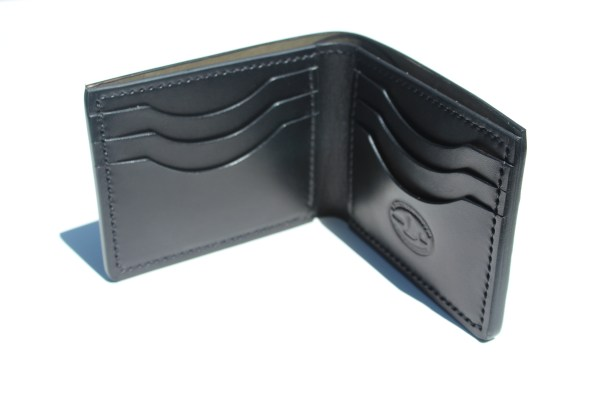 Shell Cordovan Bifold Wallets for men