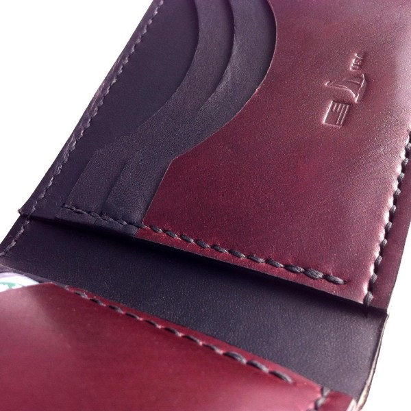 Burgundy Shell Cordovan Wallet