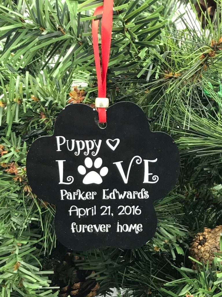 Forever home pet ornament