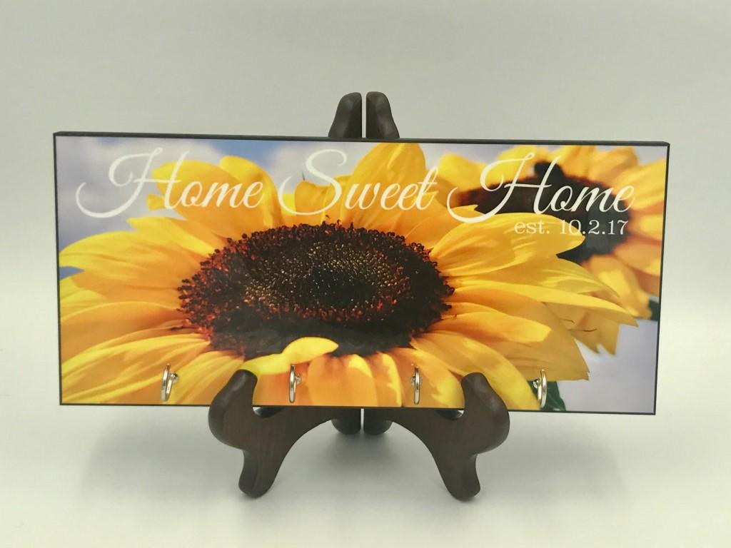 Sunflower key hanger