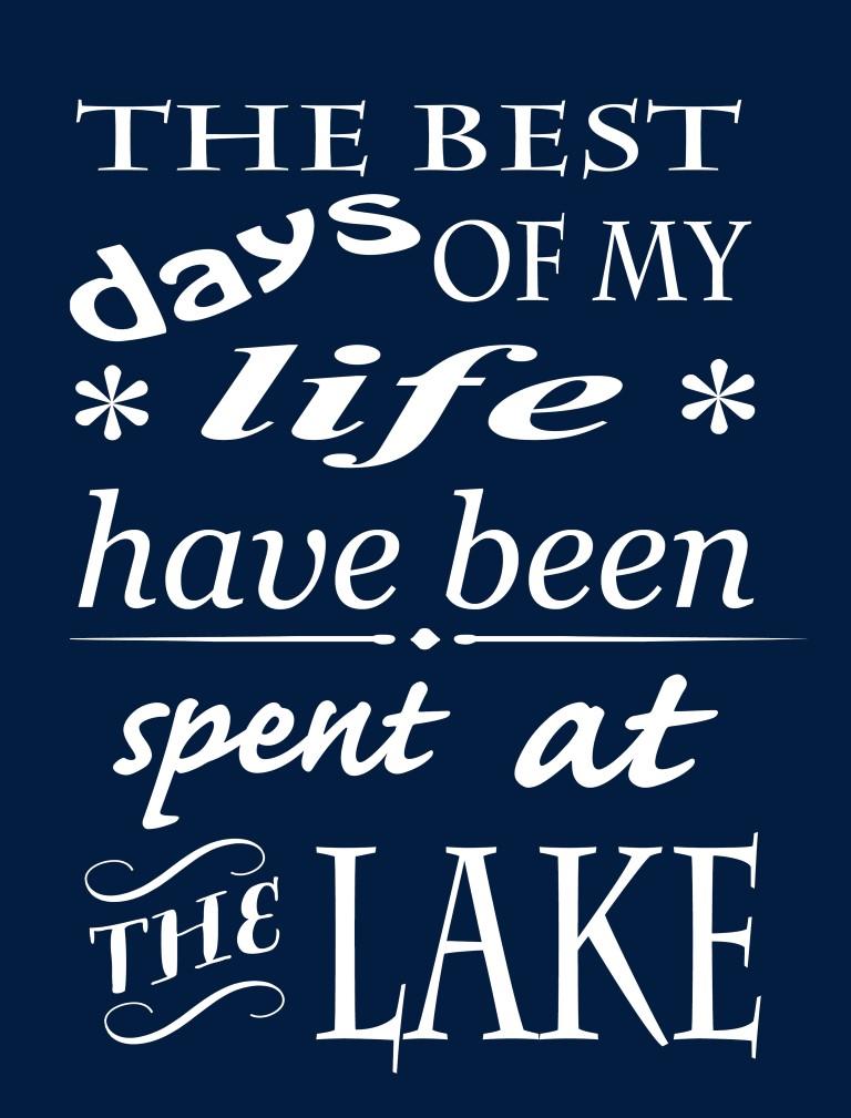Best days lake flag