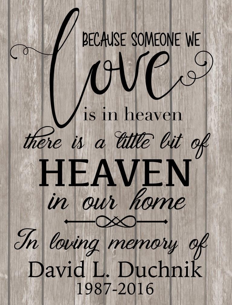 Love is in heaven flag