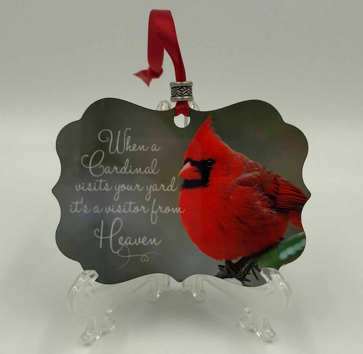 Benelux Cardinal Ornament