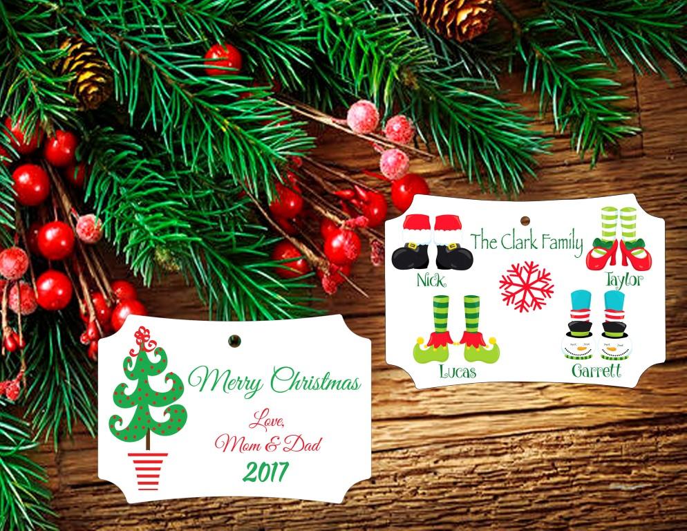 Stocking Feet Ornament