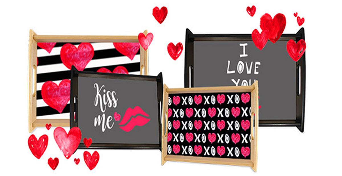 JML Valentines Serving Trays