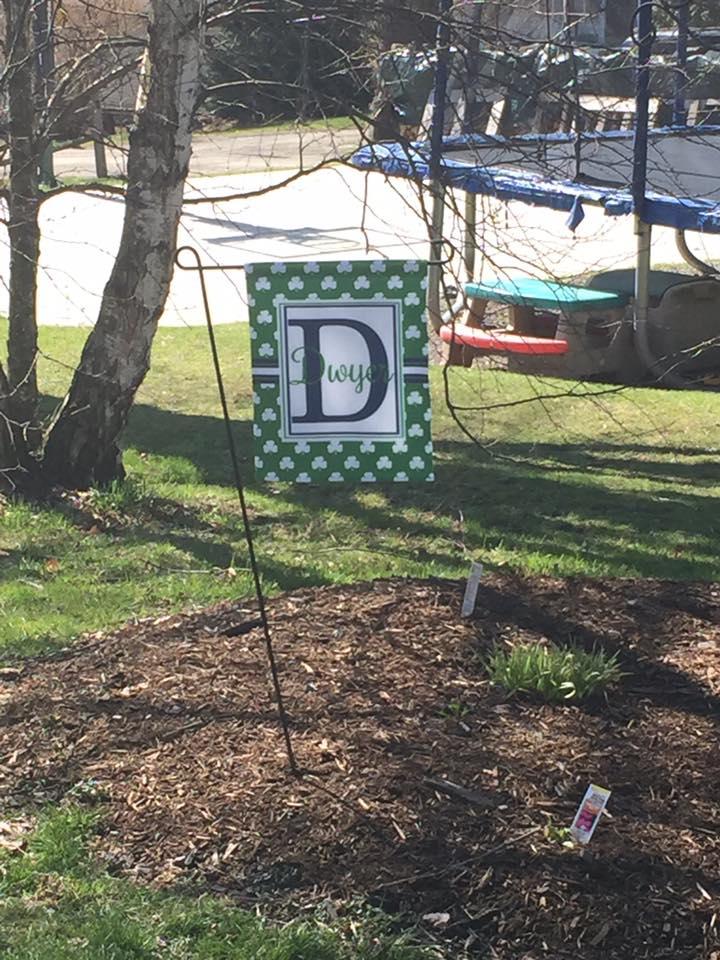 outside garden house flag 1
