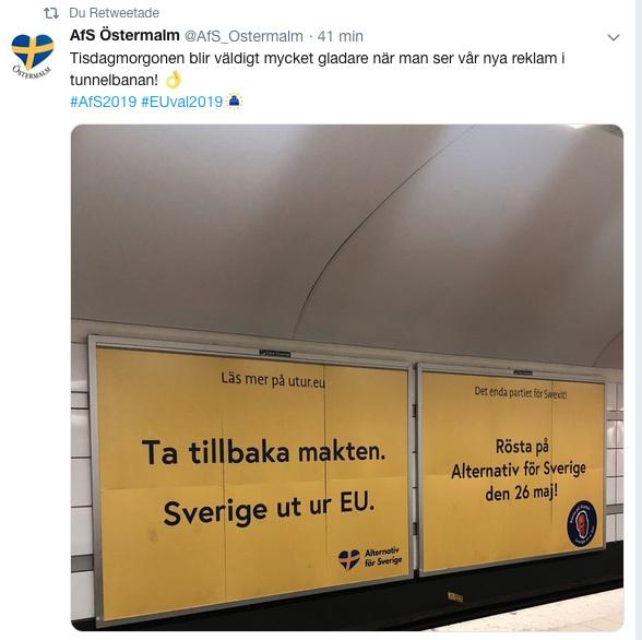 alternativ för sverige_swexit_tunnelbanan_eu valet