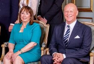 Marie y Erik Hellqvist, padres de la ahora princesa Sofía de Suecia. (Foto: Cortesía Kungahuset.se)