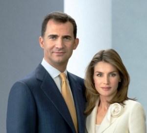 El príncipe Felipe y la princesa consorte Letizia, que ha renunciado a ser madrina.(Foto: Casa Real de España) - Pulsar para ampliar -