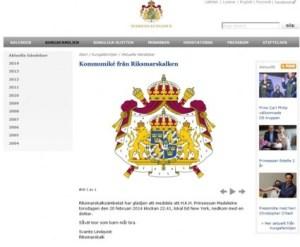 El Mariscal del Reino es el encargado de comunicar por escrito el nacimiento de un nuevo miembro de la familia real. (Foto: captura web casa real) - Pulsar para ampliar -