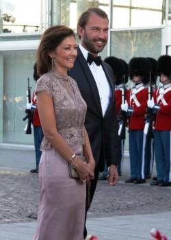 Foto de la última aparición en público de la condesa Alexandra y su segundo marido, Martin Jørgensen, en abril del 2015 en Aarhus, y días antes de anunciar su divorcio. Foto: © M.Mielgo - JM Noticias.