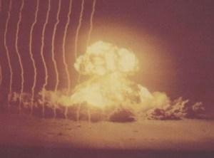 El tamaño de «Annie» era como la mitad de las bombas que se arrojaron sobre Hiroshima y Nagasaki durante la II Guerra Mundial. (Foto: Archivo Nacional EE.UU)