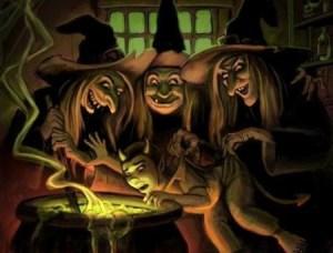 Las viejas brujas feministas han conseguido cambiar una tradición. (Foto: ilustración)