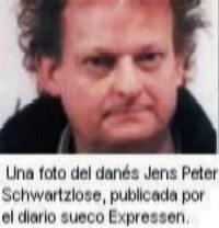 Jens Peter Schwartzlose, el loco que persigue a Vitoria de Suecia. (Foto Expressen)