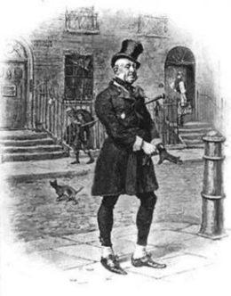 Micawber, el personaje creado por Charles Dickens. (Foto: Ilustración)
