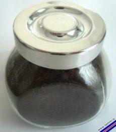 El tarro con 160 grs de ceniza de volcán cuesta unos 14 Euros. (Foto: Nammi.is)