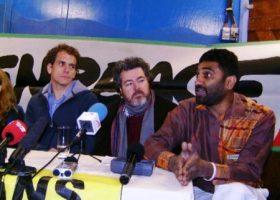 La rueda de prensa se hizo en tres idiomas; danés, inglés y español (Foto: MM - ©JMNoticias)