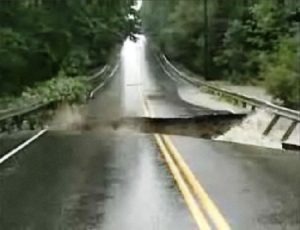 Imagen del vídeo original de lo sucedido en Freeport, en el estado de Maine, en los EE.UU. (Foto: Cpatura vídeo original)