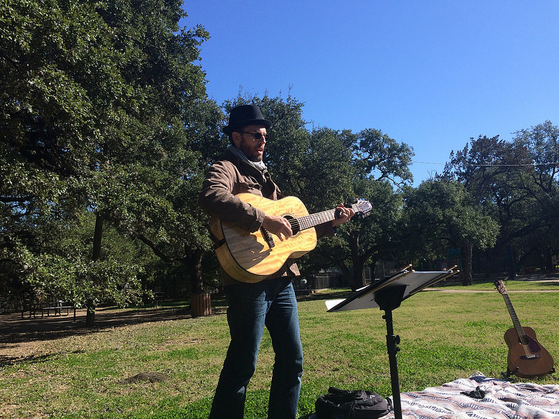 January 2016 Singalong at Little Stacy Park