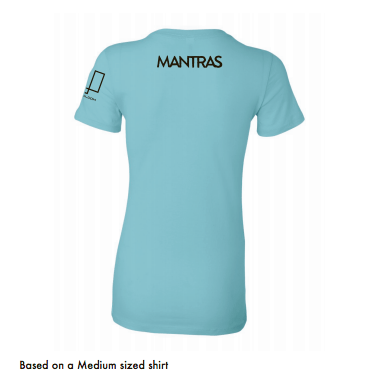 Women's MANTRAS T-shirt