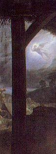 32. Philippe de Champaigne, Nativité, XVIIème S détail