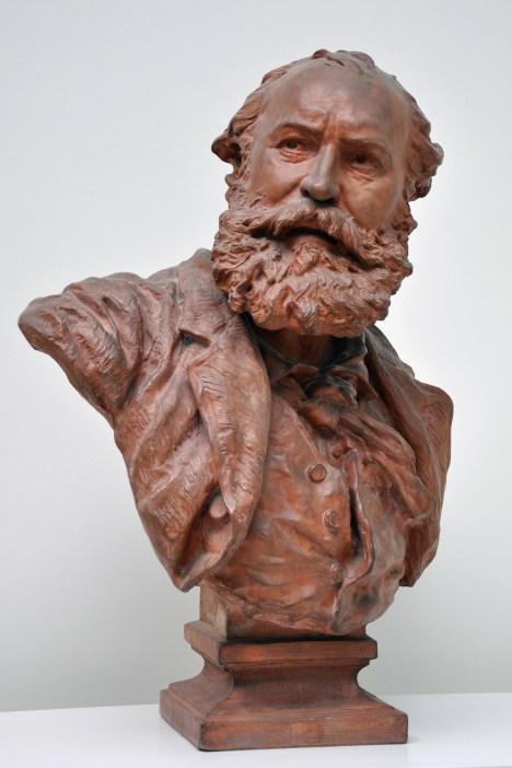 75. Buste de Charles Gounod, par Jean-Baptiste Carpeaux en 1873