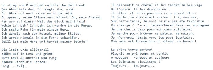 Blog 2701 Mahler Chant de la Terre Adieu 2