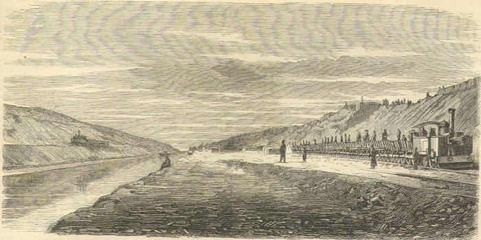 29. La construction du canal de Suez au XIXème siècle