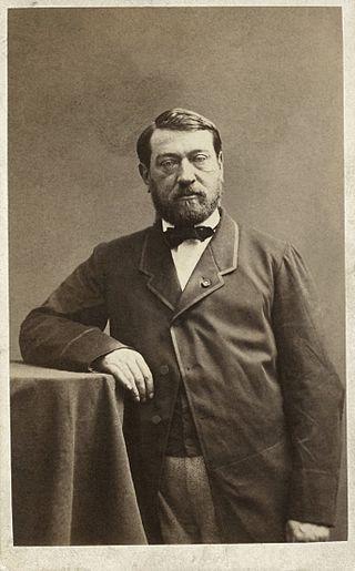 33. Auguste Mariette, par Nadar, vers 1861