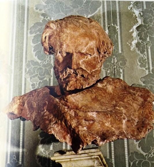 50. Verdi, buste en terre cuite de Vincenzo Gemito en 1872