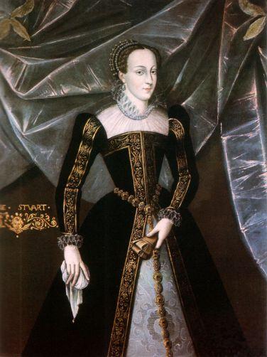 24. Anonyme, Portrait officiel de Marie Stuart