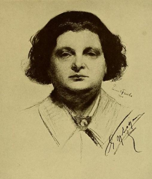 Eugène Ysaÿe, par Emil Fuchs, 1900