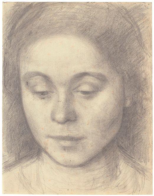 27b. Vilhelm Hammershoi, Portrait d'Ida, 1898