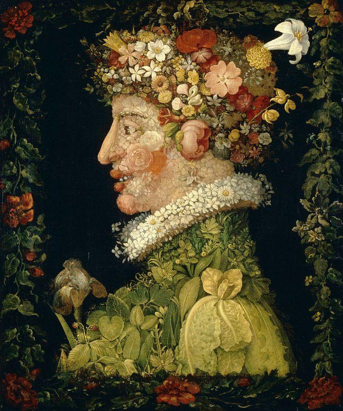 30a. Giuseppe Arcimboldo, Le Printemps, 1573