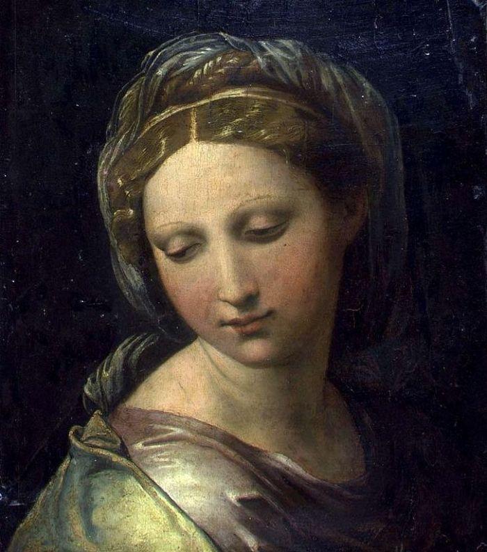 31d. Raphaël, Portrait de femme, 1515.