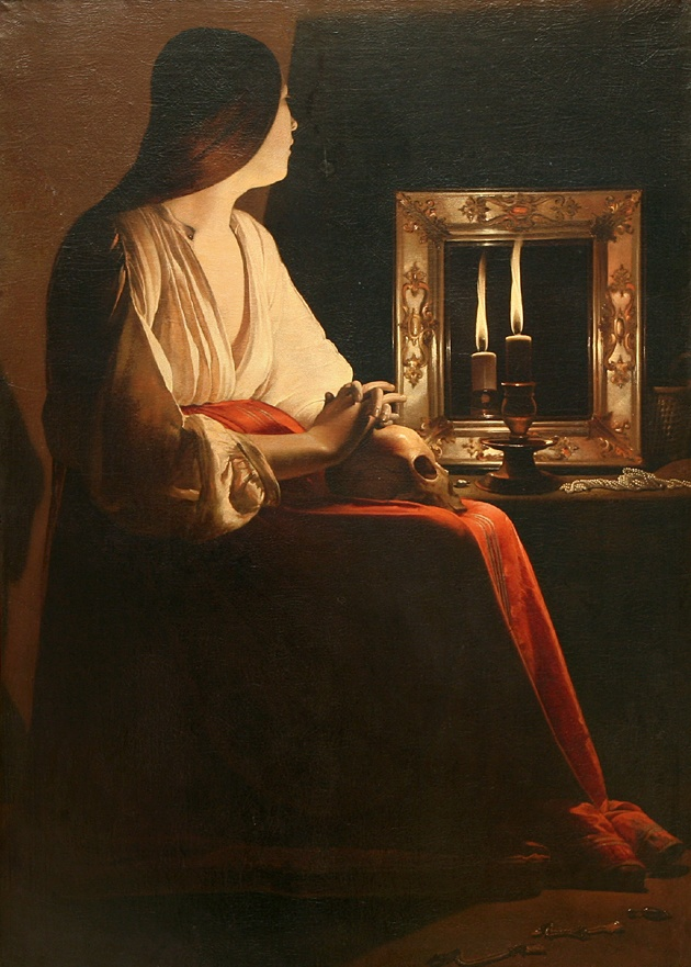 32. Georges de La Tour, Madeleine pénitente, 1643