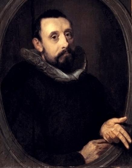 40b. Portrait de Jan Pieterszoon Sweelinck par (1606)
