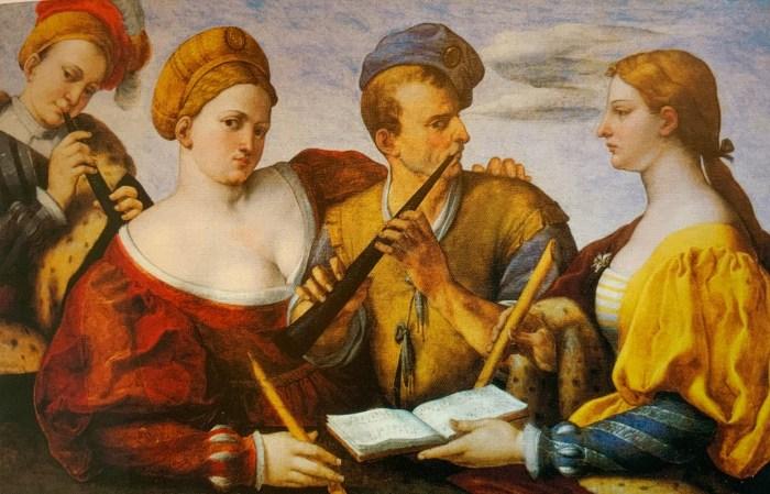 42a.Artiste vénitien anonyme, Concerto, vers 1530-40