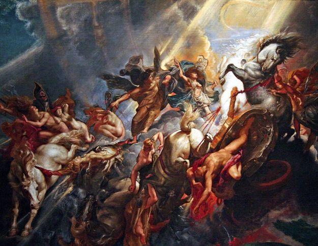 59c. Pierre Paul Rubens, La Chute de Phaeton (vers 1604-1605)