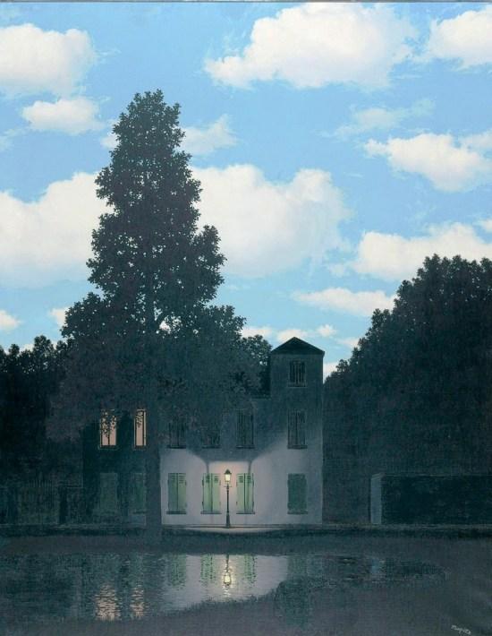 71a. René Magritte, L'Empire des Lumières, 1954.