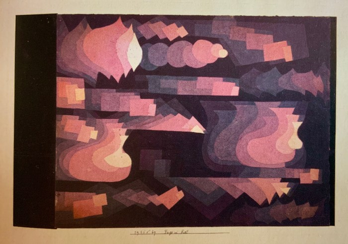 72a Paul Klee (1879-1940), Fugue en rouge, 1921
