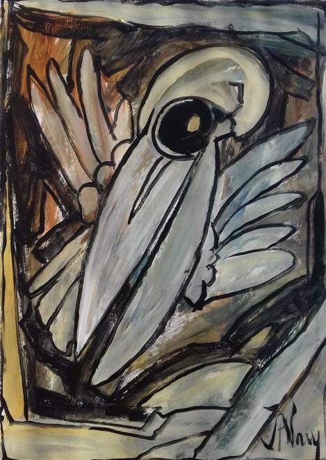 77c. Jacques Alary, L'Abyme des Oiseaux d'après le Quatuor de Messiean.