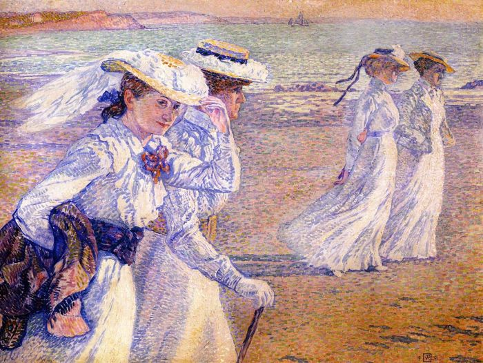 86b. Theo van Rysselsberghe, La Promenade (1901)