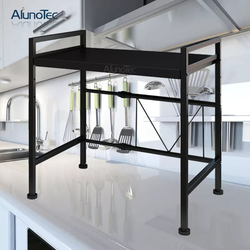 adjusted 2 tiers stainless steel