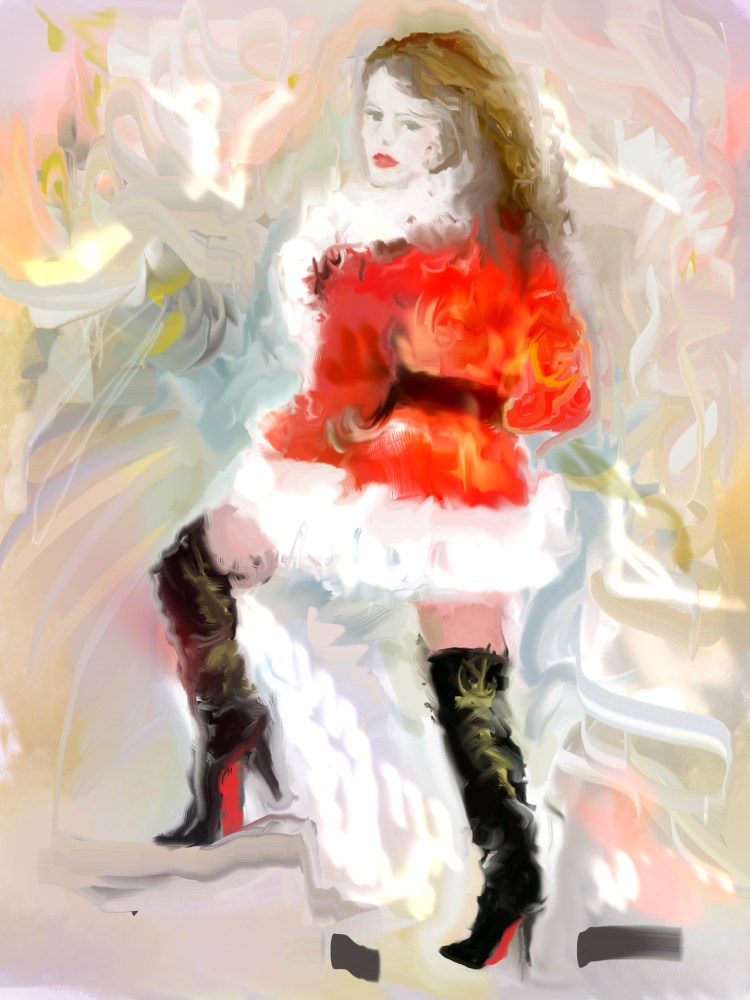 Christmas ghosts..hum I prefer models....:) (1/6)