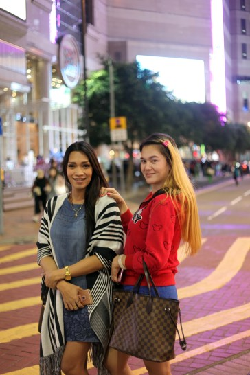 """Jessie 21, Cindy 21 """"It's...not an abnormality. We are ladyboys...is that ok? For us femininity is essence."""""""