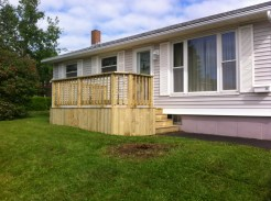 Deck front view