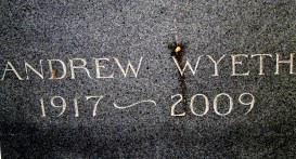 Artist's gravesite
