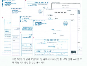 court papers on jung myung seok